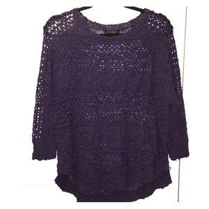 Gorgeous purple Millau sweater!